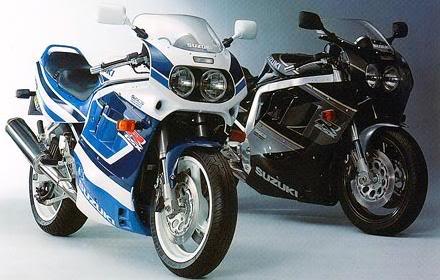 HISTÓRIA - SUZUKI GSX-R1000 GSX-R1100_1991