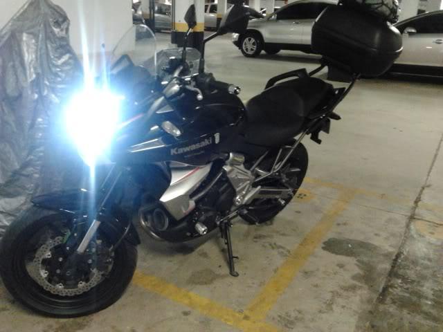 É a minha Kawasaki Versys - Monster na Área!!! 2011-09-21204740