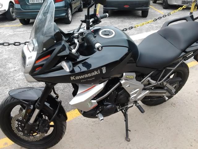 É a minha Kawasaki Versys - Monster na Área!!! 2011-09-22090813