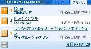 Día 3 - Perfume en 2° lugar!! ORICONSTYLE_1247233396544