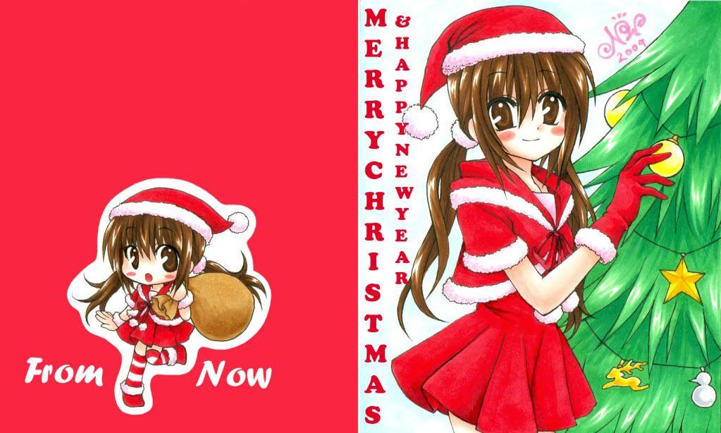 -llll[มาเอาตัวละครมาใส่ชุด ซานตา กันเถอะ]llll-[โพสได้ทุกคน] Christmas2009-2