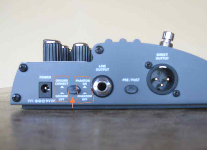 Pedal Hartke Bass Attack VXL. VXL_1_3