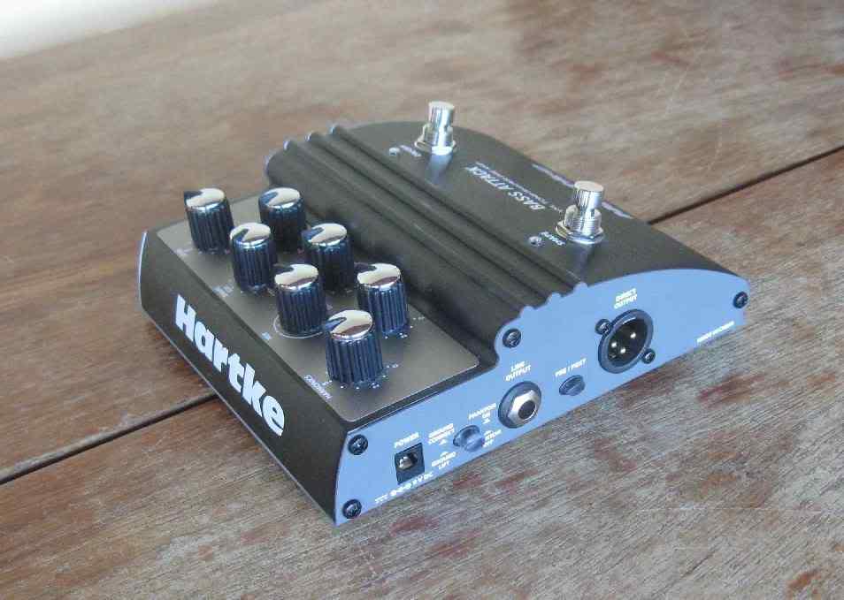Pedal Hartke Bass Attack VXL. VXL_4_3