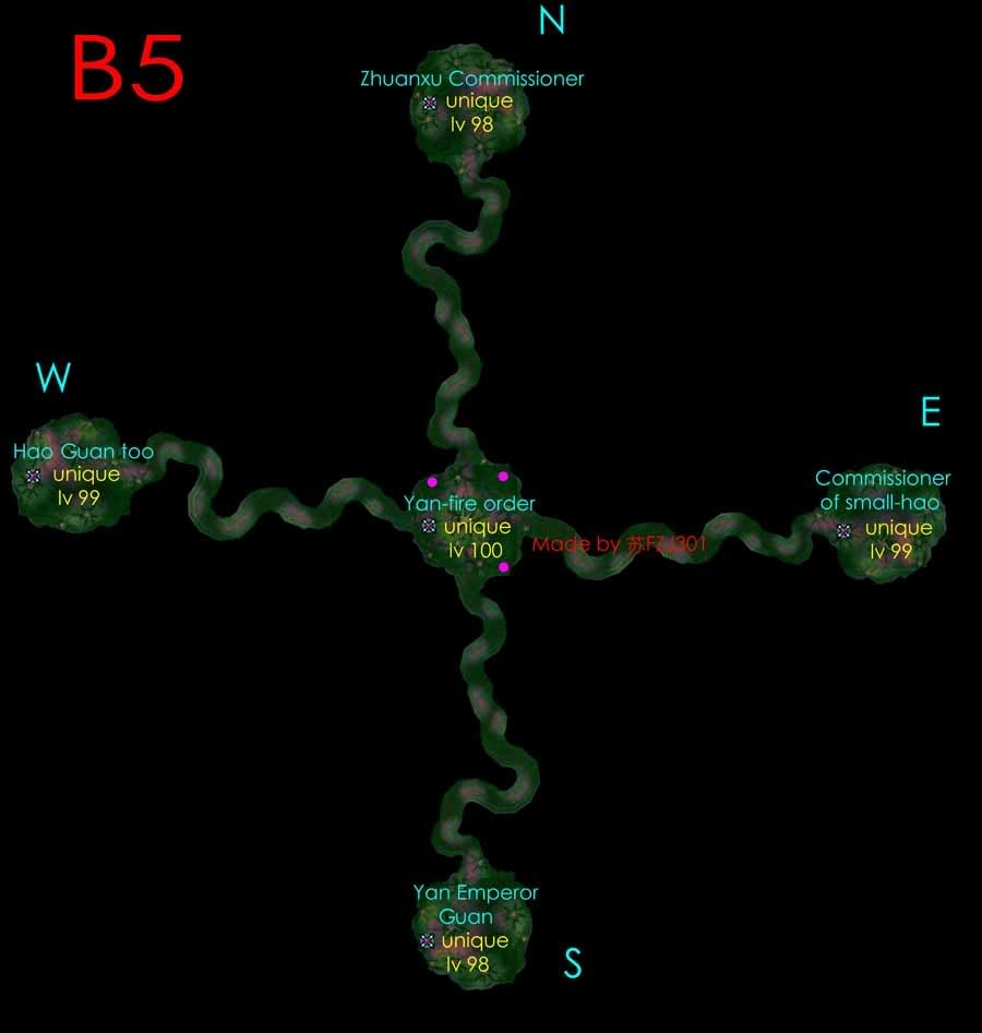 Chin town cave maps. (mobs spots UPDATED) 5fjo5