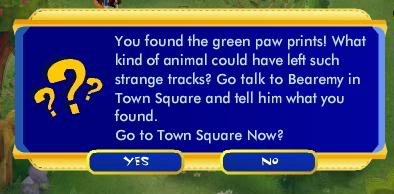 Green Paw Prints Quest ScreenShot164