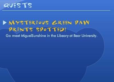 Green Paw Prints Quest ScreenShot170