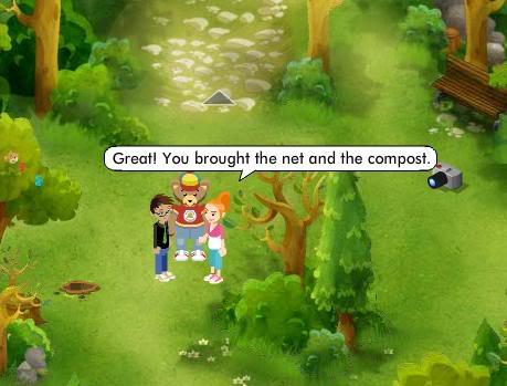 Green Paw Prints Quest ScreenShot207