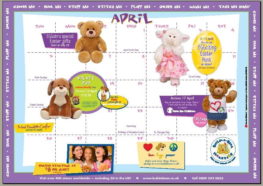 BABW April Calendar 2009 (UK) ScreenShot227