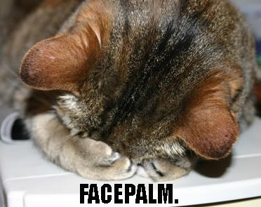 Photo Gallery of Absolute Randomness - Page 2 Cat_FACEPALM