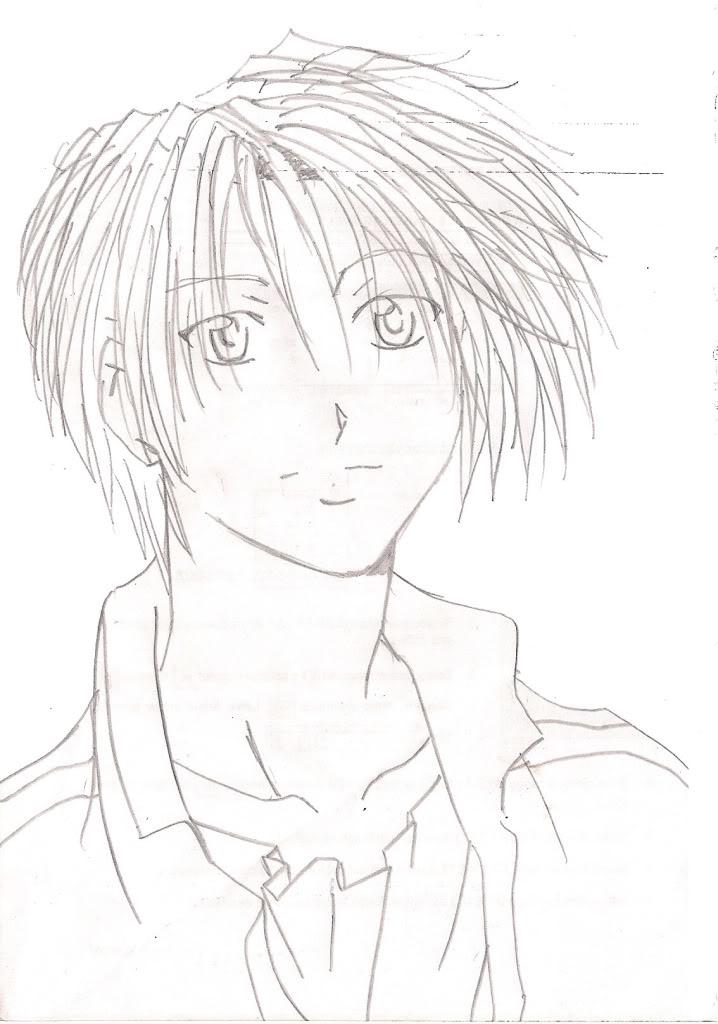 mis dibujos MANGA