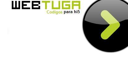 Os novos logos do Webtuga Webtugalogoparahi5