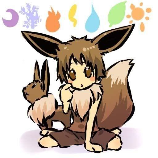 pokemon sprites and images 133_Eevee