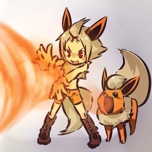 pokemon sprites and images 136_Flareon