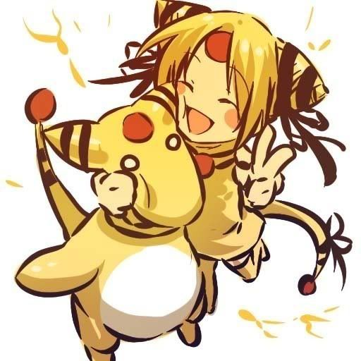 pokemon sprites and images 181_Ampharos
