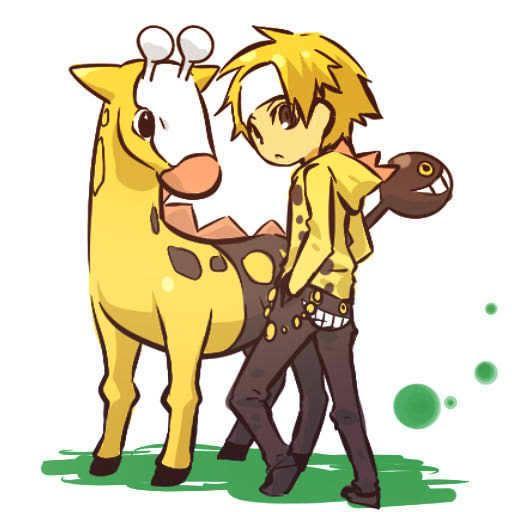 pokemon sprites and images 203_Girafarig