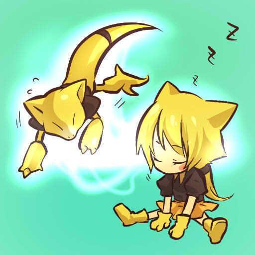 pokemon sprites and images Abra