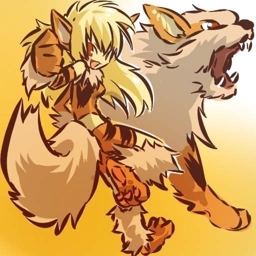 pokemon sprites and images Arcanine