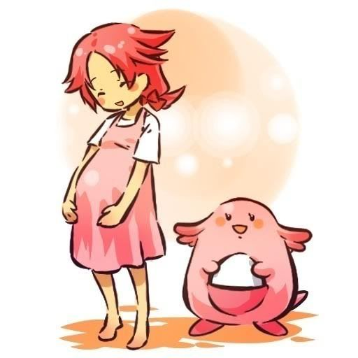 pokemon sprites and images Chansey