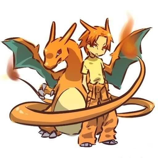 pokemon sprites and images Charizard2