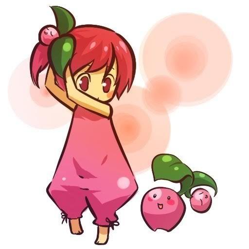 pokemon sprites and images Cherubi