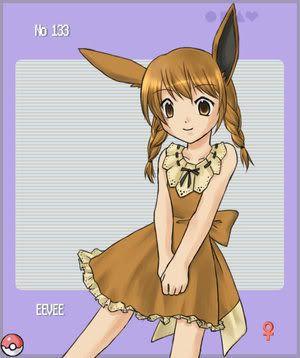 pokemon sprites and images Eevee