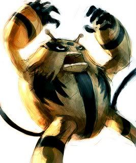 pokemon sprites and images Electivire-done