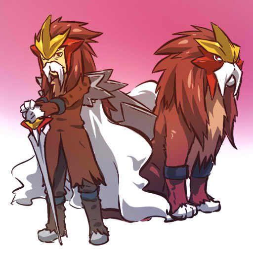 pokemon sprites and images Entei