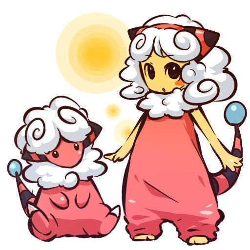 pokemon sprites and images Flaffy