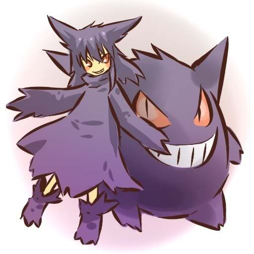 pokemon sprites and images Gengar2