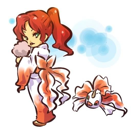 pokemon sprites and images Goldeen