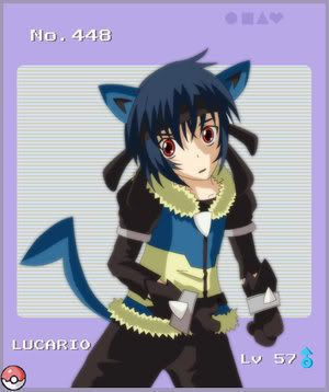 pokemon sprites and images HUMANLUCARIO