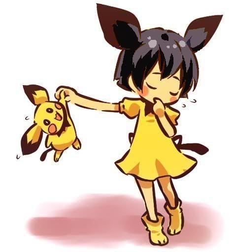 pokemon sprites and images Hanabi