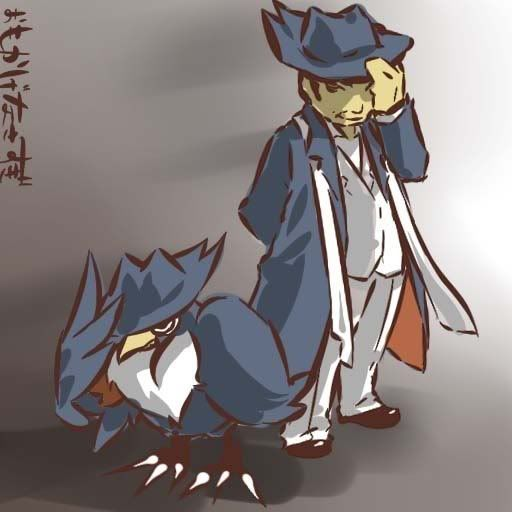 pokemon sprites and images Honchkrow