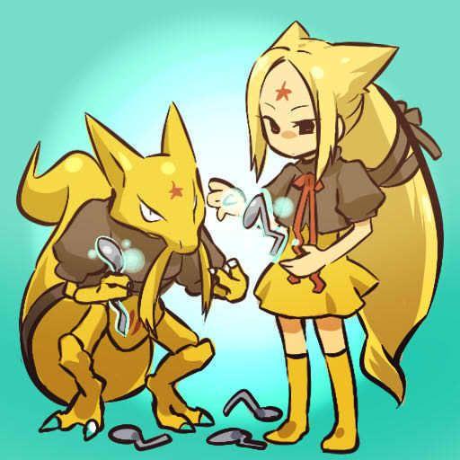 pokemon sprites and images Kadabra