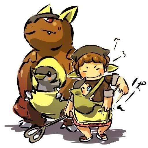 pokemon sprites and images Kangaskhan