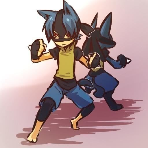 pokemon sprites and images Lucario-1
