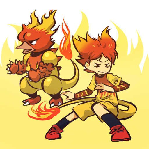 pokemon sprites and images Magmar