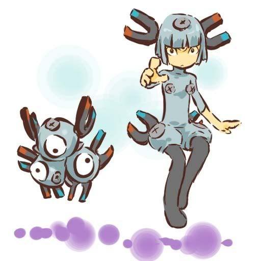 pokemon sprites and images Magneton