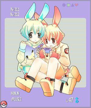 pokemon sprites and images MinunPluslieBoys