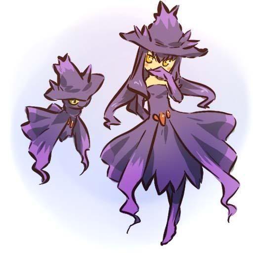 pokemon sprites and images Mismagius