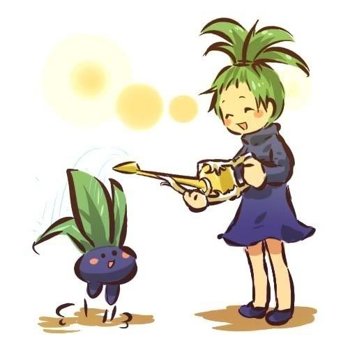 pokemon sprites and images Oddish