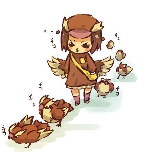 pokemon sprites and images Pidgey