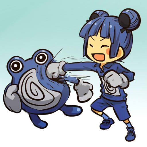 pokemon sprites and images Poliwhirl