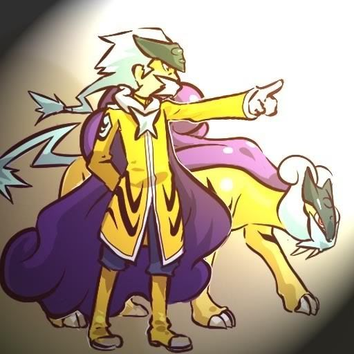 pokemon sprites and images Raikou