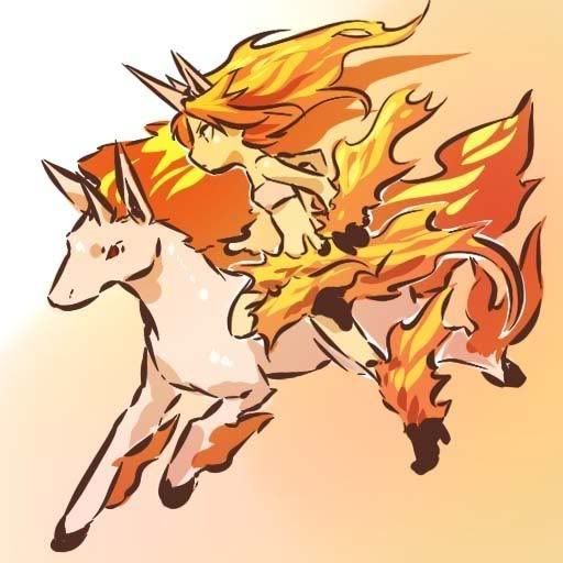 pokemon sprites and images Rapidash