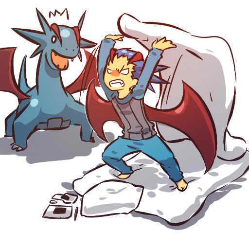 pokemon sprites and images Salamance