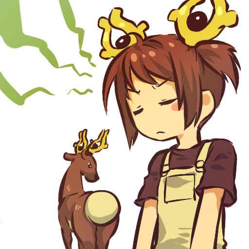 pokemon sprites and images Stantler