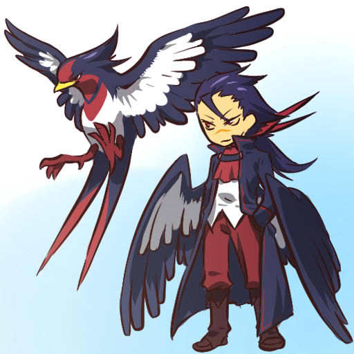 pokemon sprites and images Swellow