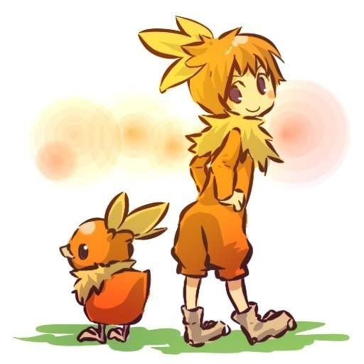 pokemon sprites and images Torchic