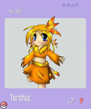 pokemon sprites and images TorchicGirl
